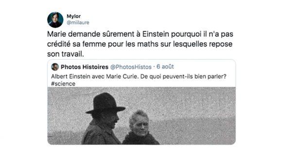 Image de couverture de l'article : Mais de quoi Marie Curie et Albert Einstein ont-ils bien pu parler ?