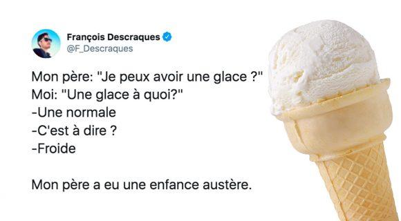 Image de couverture de l'article : Les meilleurs tweets sur l'aliment le plus rafraîchissant : la glace !