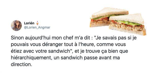 Image de couverture de l'article : Les meilleurs tweets sur un délice gastronomique : le sandwich.