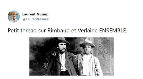 Image de couverture de l'article : Thread :  Rimbaud et Verlaine en photo