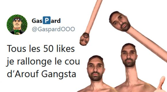 Image de couverture de l'article : Thread : Arouf Gangsta, le plus beau rebeu au long cou de tous les rebeux