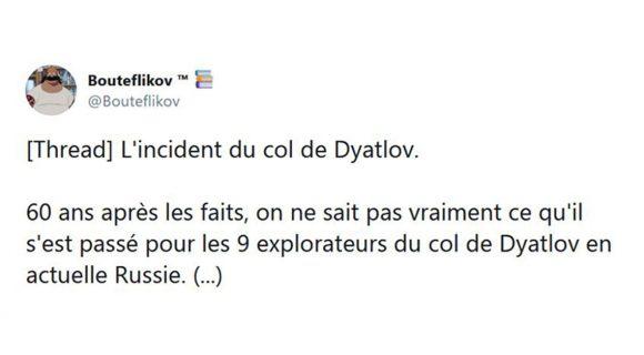 Image de couverture de l'article : Thread : mais que s'est-il vraiment passé au col de Dyatlov ?