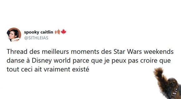 Image de couverture de l'article : Thread : Les Star Wars week-ends danse, vous ne vous en remettrez pas