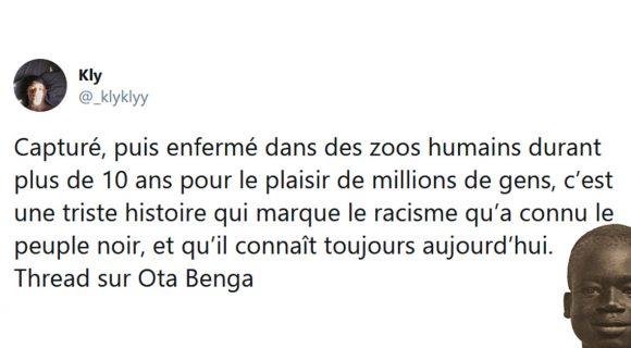 Image de couverture de l'article : Thread : La tragique histoire d'Ota Benga, le Pygmée devenu bête de foire