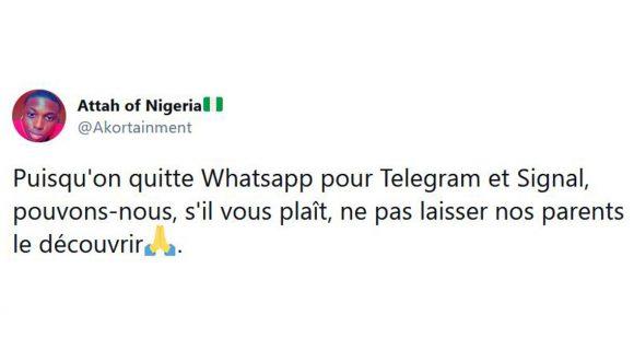 Image de couverture de l'article : Faut-il quitter WhatsApp ?