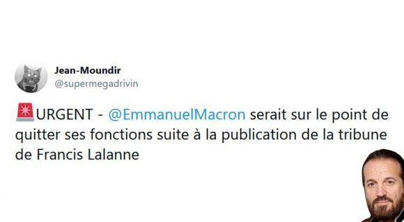 Image de couverture de l'article : Les 15 meilleurs tweets sur la révolution menée par Francis Lalanne