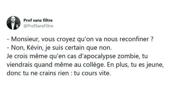 Image de couverture de l'article : Les 18 meilleurs tweets sur les écoles françaises, les seules à être immunisées contre le covid