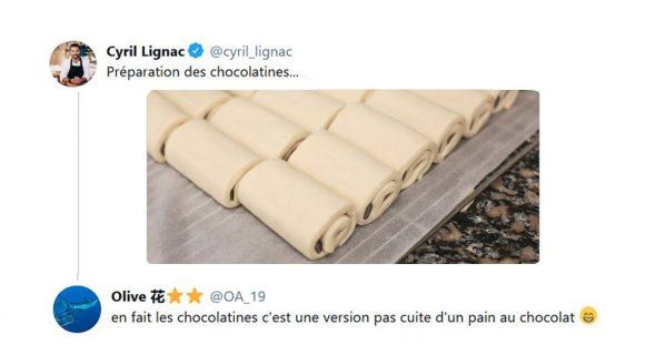 Image de couverture de l'article : Quand Cyril Lignac prépare des chocolatines et non des pains au chocolat