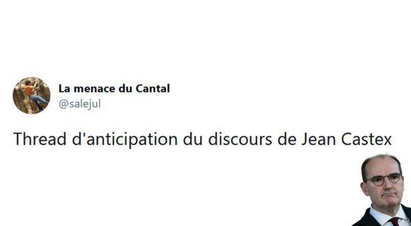 Image de couverture de l'article : Thread : le discours de Jean Castex avant l'heure