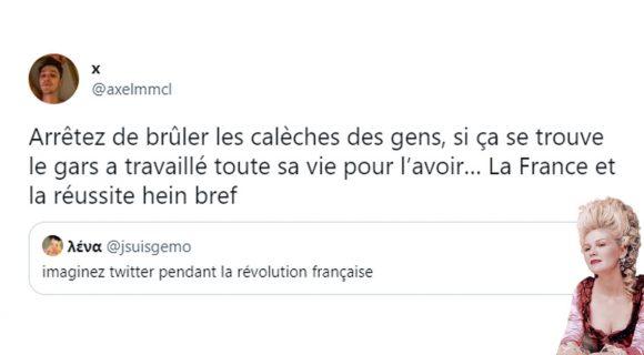 Image de couverture de l'article : Que donnerait Twitter pendant la Révolution française ?