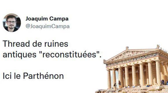 Image de couverture de l'article : Thread : à quoi ressemblaient les monuments aujourd'hui en ruine ?