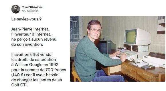 Image de couverture de l'article : Connaissez-vous Jean-Pierre Internet, l'inventeur d'Internet ?