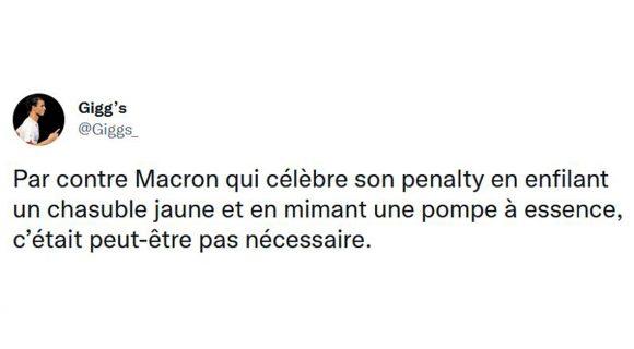 Image de couverture de l'article : Les 20 meilleurs tweets du match de Macron, franchement si vous votez par pour lui après ça !