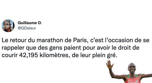 Image de couverture de l'article : Les 15 meilleurs tweets sur le marathon, pourquoi se faire du mal comme ça ?